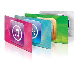 海外充值中国苹果礼品卡 app store itunes