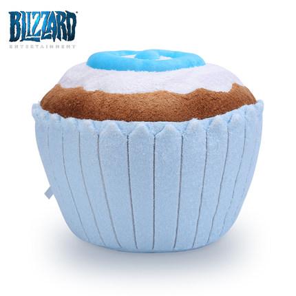 海外充值blizzard暴雪炉石传说蛋糕抱枕