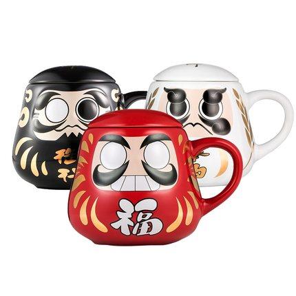 海外充值阴阳师周边达摩陶瓷杯