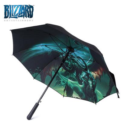 海外充值blizzard伊利丹怒风魔兽雨伞