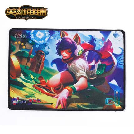 海外充值LOL 电玩阿狸鼠标垫