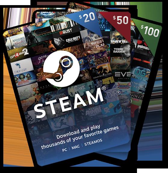 美国Steam平台充值卡