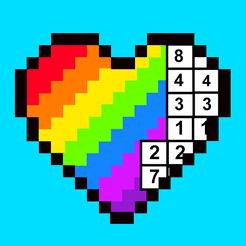 海外充值彩虹数字填色手游ios苹果版 APP ITUNES充值