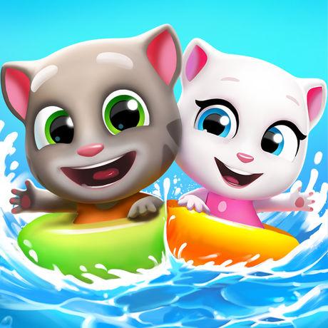 海外充值汤姆猫水上乐园手游ios苹果版APP ITUNES充值