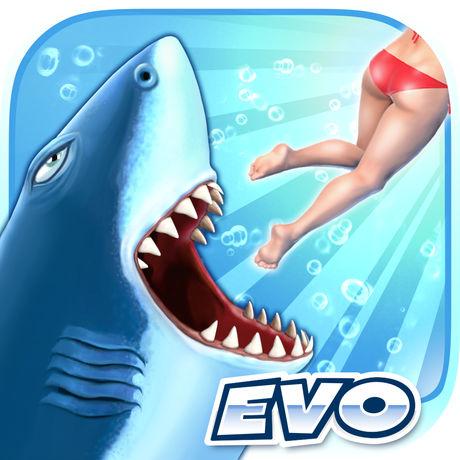 海外充值饥饿鲨 进化手游ios苹果版 APP ITUNES充值