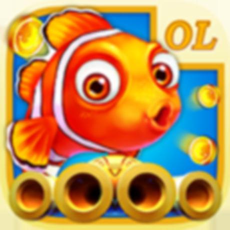海外充值联机捕鱼OL手游ios苹果版 APP ITUNES充值
