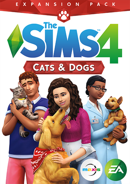 The Sims 4: Cats and Dogs Origin CD Key