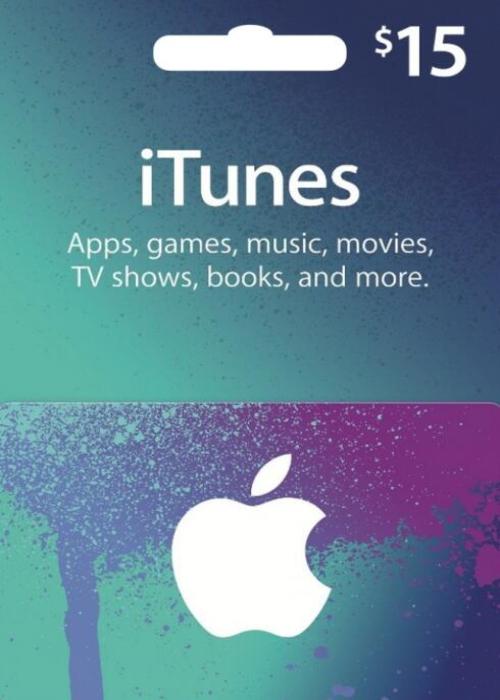 Apple Gift Card 15 USD