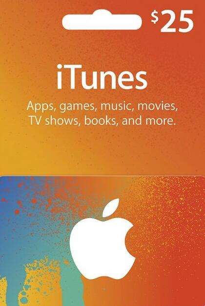 Apple Gift Card 25 USD