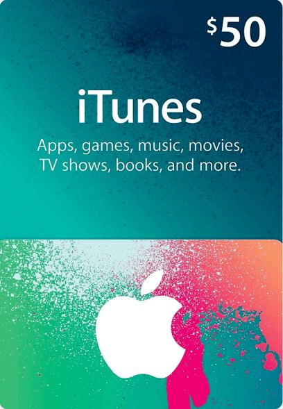 Apple Gift Card 50 USD