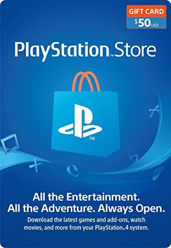PlayStation card 50USD